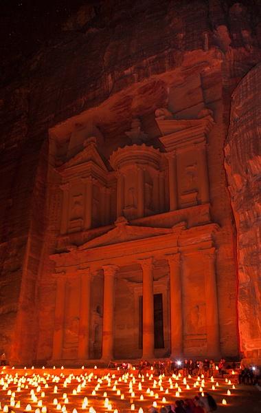 Petra by Night by malum