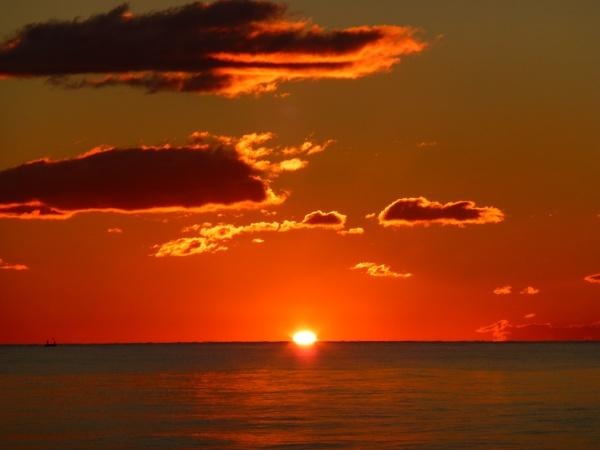 Sunrise in Estapona by Gary66