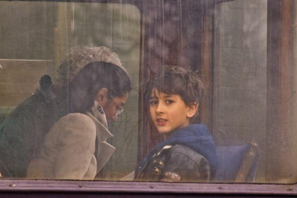 Boy at the Train Window by maggietear
