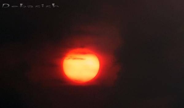 MOMENT OF SUNRISE........... by DEBASISH