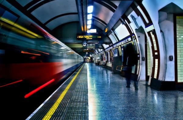 Catching the Train by Anatoleya