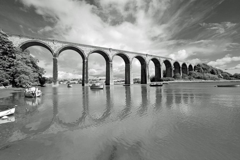 St Germans Viaduct, Cornwall