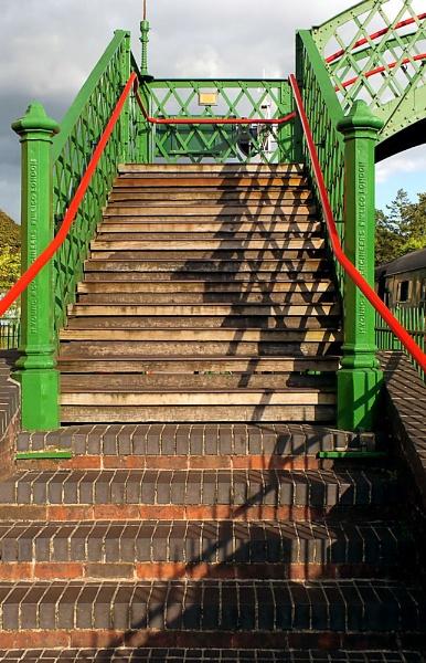 Alton Station Footbridge by pamelajean