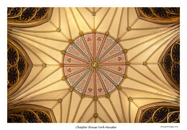 Chapter House York Minster by GlynnisFrith
