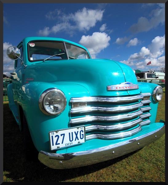 Chevy truck by BillyBunter