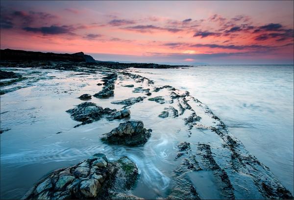 Kilve Beach by colin63