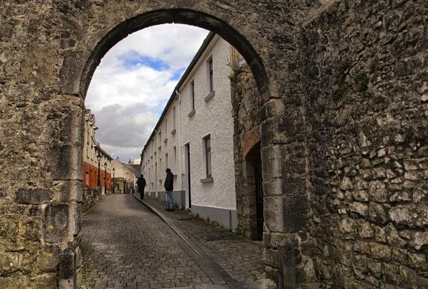 A Street in Kilkenny by moerobinson