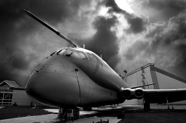 Nimrod, RAF Cosford Museum by RTR