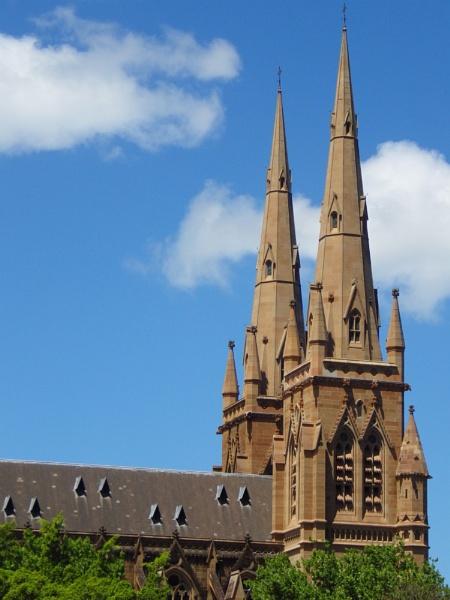 St Marys Cathedral Sydney Australia by Regbaron