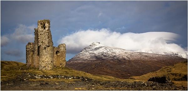 Ardvrek Castle by AnnChown