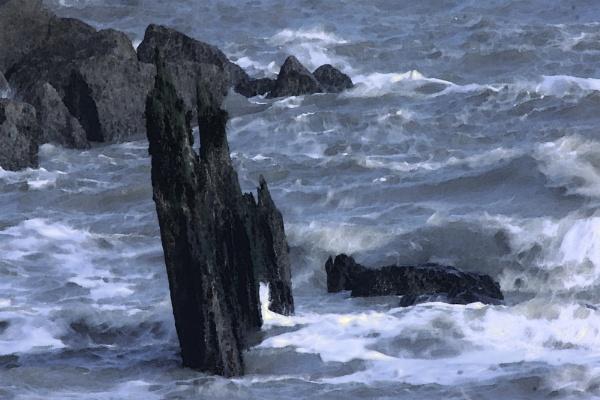 The Wild North Sea by fandangofandingo