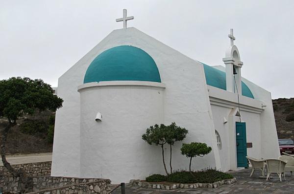 Mykonos Church by Hermanus