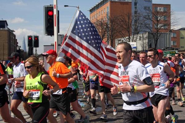Flying the Flag in London by desborokev