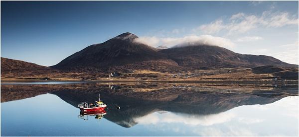 Loch Slapin mirror... by Scottishlandscapes