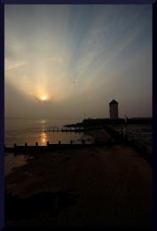 Brightlingsea cloudy sunset