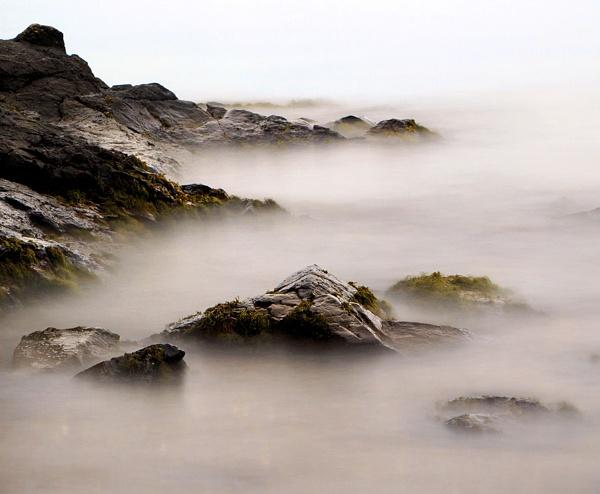 Misty Rocks by karen61