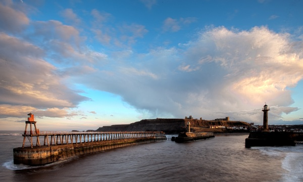 Whitby Pier by cocky936