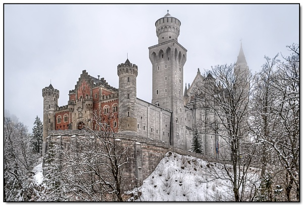 Neuschwanstein Castle 1 by TrevBatWCC