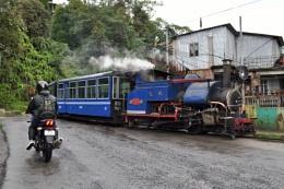 toy train of Darjeeling