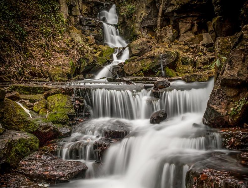 Cropped Lumsadale Falls