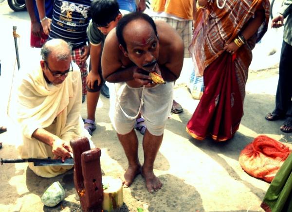 Sacrifice. by BHUBAN