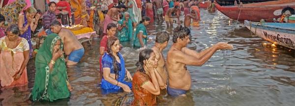 Ganga Morning Ritual by WeeGeordieLass