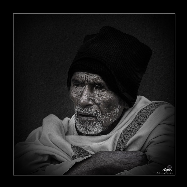 A Portrait. by rajeveb