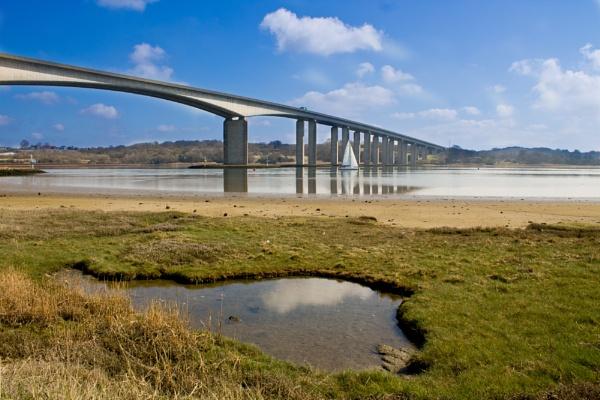 Orwell Bridge by jrcleave77