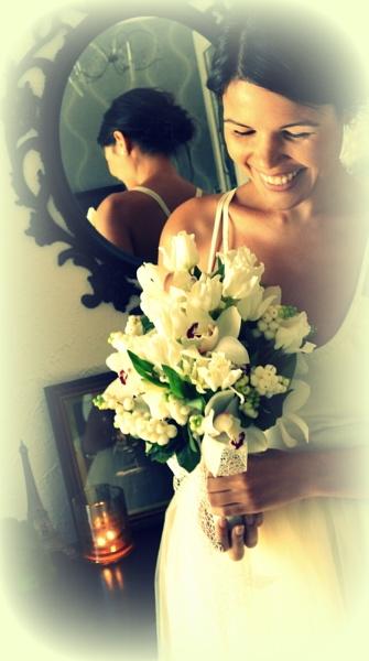 Blushing Bride by CLARECUM