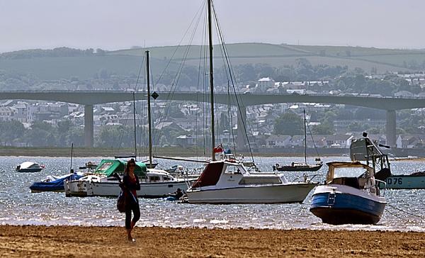 A Walk on the Beach by Fogey