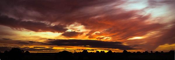 Sunrise over Shawbury by Fogey