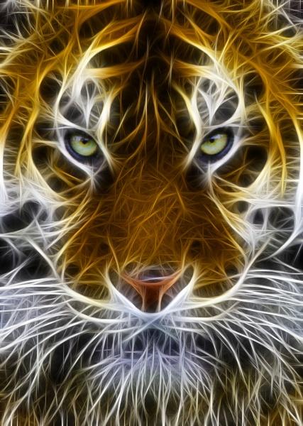 Fire Tiger by ellishmelike