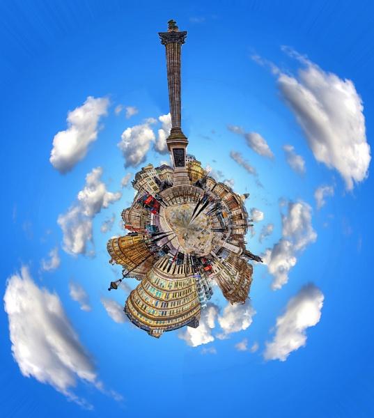 Trafalgar Square - Polar Panorama by Anatoleya