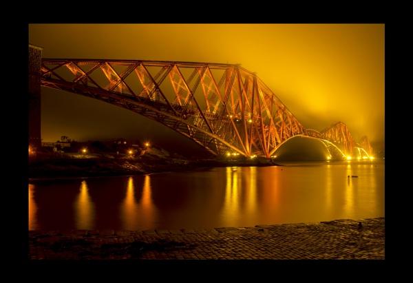 Foggy Forth Bridge by RossGStrachan