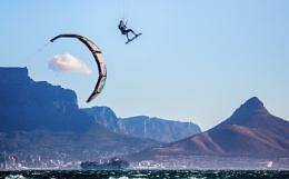Kite Surfing, Cape Town