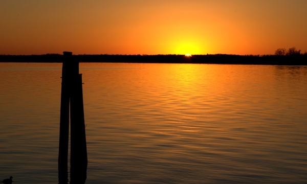 Morning Sun At Jordan Point by HectorRivera