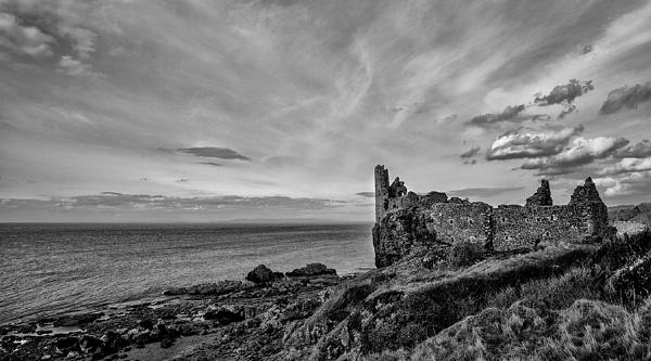 Dunure Castle by karen61