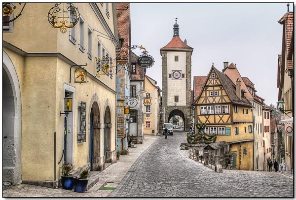 Untere Schmiedgasse, Rothenburg by TrevBatWCC