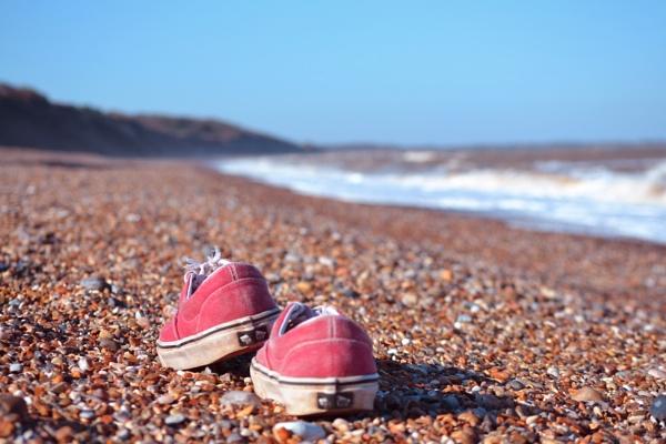 Shingle beach by cathsnap