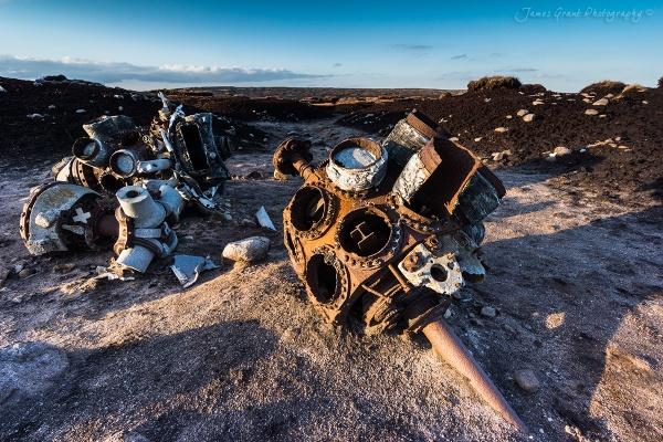 Bleaklow Plane Crash by jamesgrant