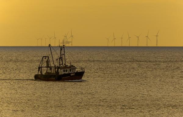 Scroby Sands Wind Farm by pdunstan_Greymoon