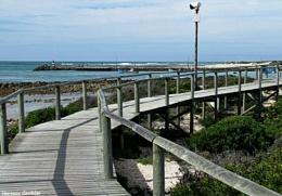 Boardwalk Shadow