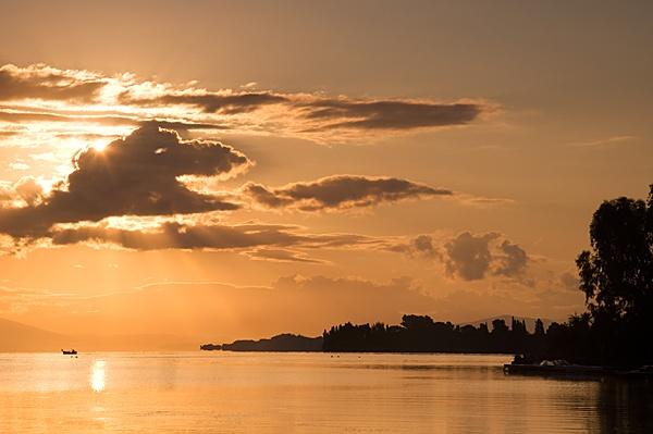 Gouvia bay Corfu by KevRobo