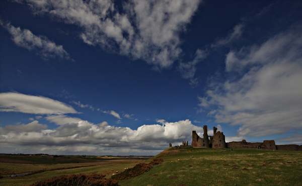 Dunstanburgh Castle, Northumberland, England by IanLuckock