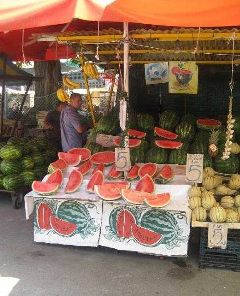 Watermelon Man by freckleface1