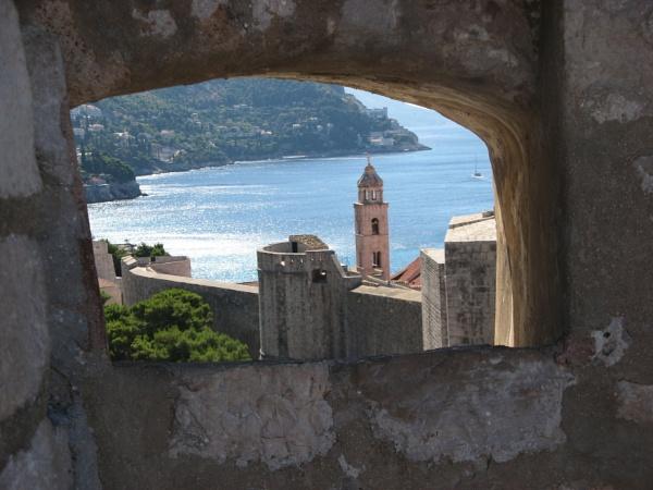 Window On Dubrovnik by freckleface1