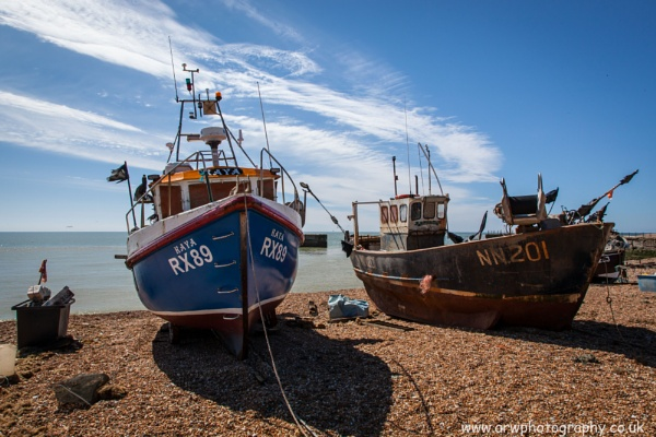 Fishing Boats by andypitstop
