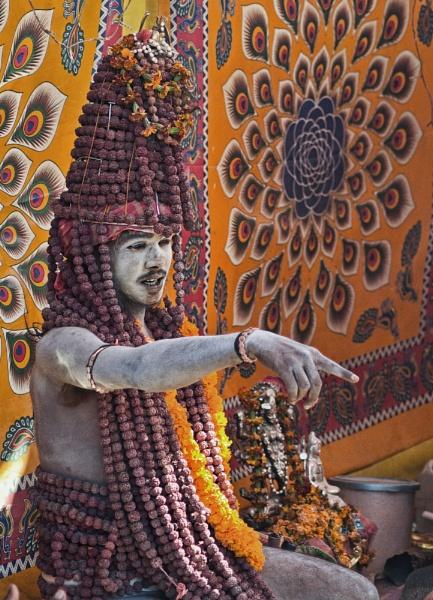 Ash Covered Naga of the Kumbh by WeeGeordieLass