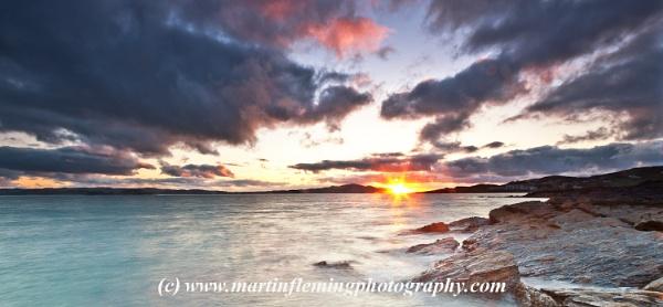 Sheephaven Sunset by irishman