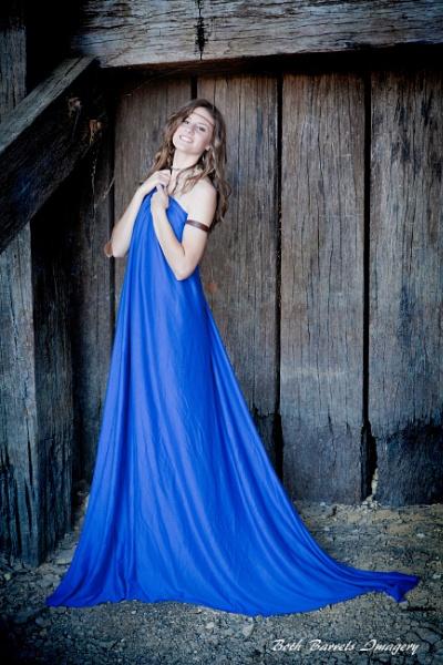 Blue Girl by smasha69